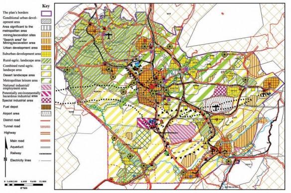 Map no. 1: Master Plan 14/4 Amendment 23