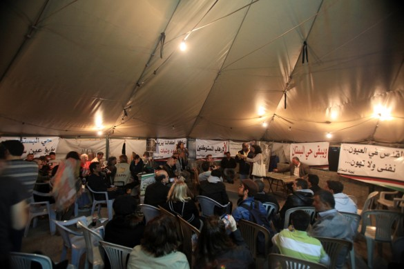 The final event of the 2011 Palestine Festival of Literature goes ahead in Silwan, in spite of Israeli crackdown