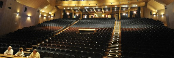 The main venue, Bethlehem Convention Palace