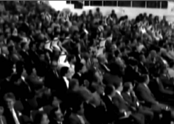 'Deterritorialized Parliament', a gathering of the Palestine Liberation Organisation (PLO) in exile